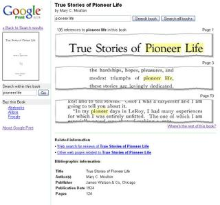 Google Print Sued by Authors Guild